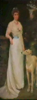 portrait of a lady by charles goldsborough anderson