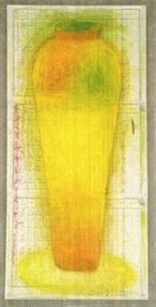 vaso giallo by lucia pescador