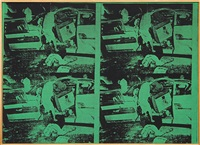 andy warhol saturday disaster, 1968 by richard pettibone