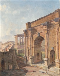 arco di tito by jacob george strutt