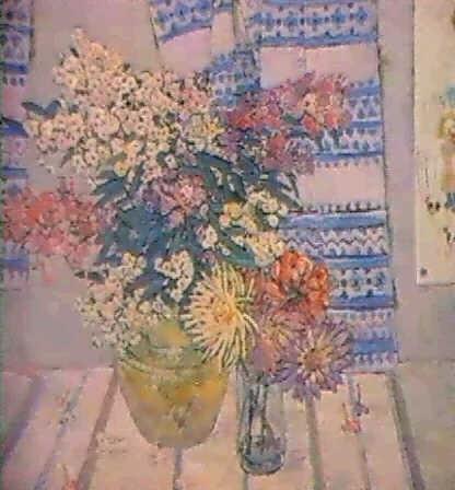le rideau bleu by olga ratnikova