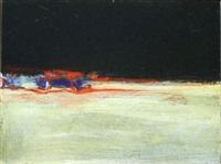 night on the barrow (diptych) by gerald davis