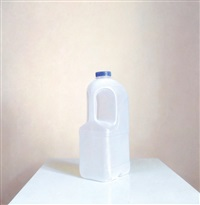 empty milk container by david denby