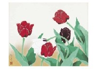 tulips by hoshun yamaguchi