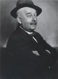 portraits eines herren by erna lendvai-dircksen
