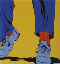 blue shoes by deborah azzopardi