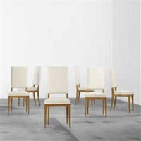 dining chairs (set of 6) by maurice lafaille
