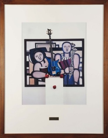 triptychos post historicus part one la lecture fernand léger 1924 part two robin katzs guitar part three apples by braco dimitrijevic