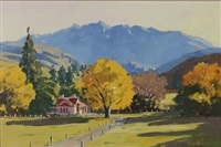 autumn, central otago by simon williams