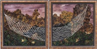 hammock (diptych) by natalia nesterova