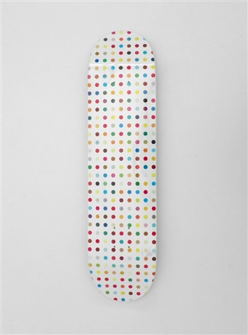 skateboard deck by damien hirst
