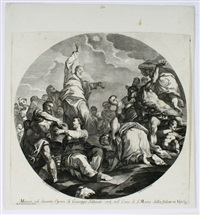 die mannalese (after g. b. tiepolo) by andrea zucchi