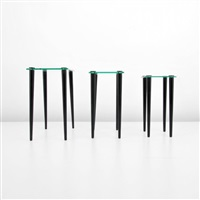 nesting tables (3 works) by gilbert rohde