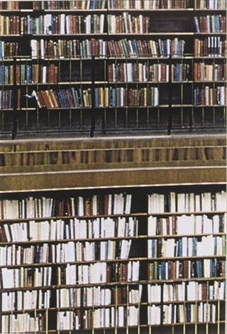 bucherwand by andreas gursky
