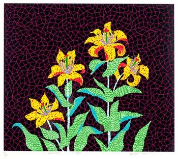 flowers 花 by yayoi kusama