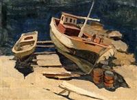 les bateaux au sec by nicolai babasiouk