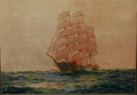 cutty sark by john allcott