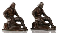 prospectors bookends by max kalish