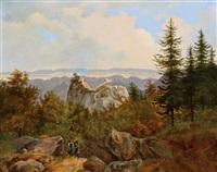 himmelreich in der brühl mit rosaliengebirge by joseph altenkopf