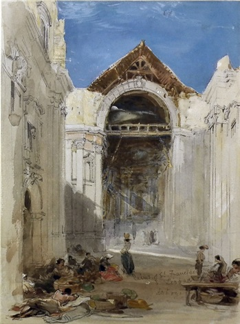 ruins of st francisco lisboa by james holland