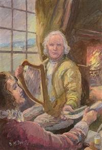 harpist o'carolan by bernard mcdonagh