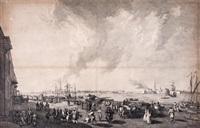 vue de st. petersbourg by jacques philippe le bas