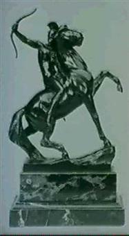 amazon on horseback by max valentin