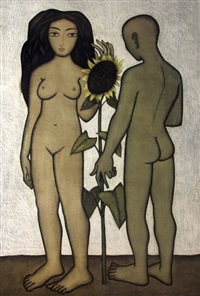 le couple au tournesol by michel lablais