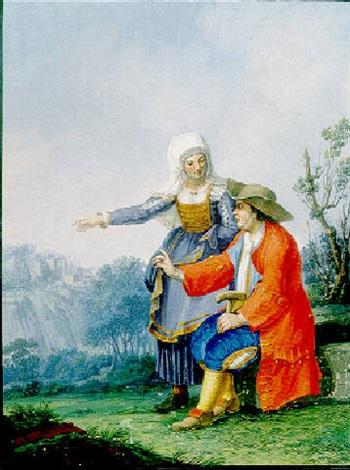 uomo e donna di teano by alessandro d anna