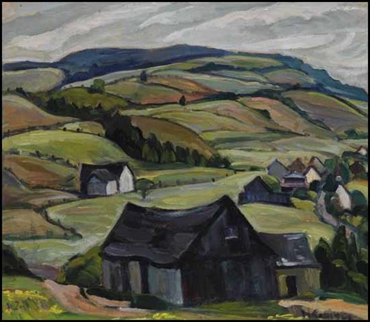hills back of cap à laigle pq by nora frances elisabeth collyer