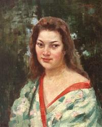 the green kimono by honorius cretulescu