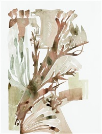 Untitled (Flowers) (2 works), 2005