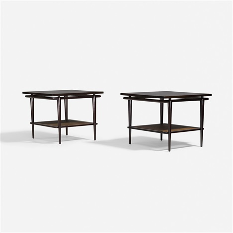Tables, Pair By John Widdicomb Furniture (co.)