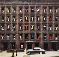models in windows, nyc by ormond gigli