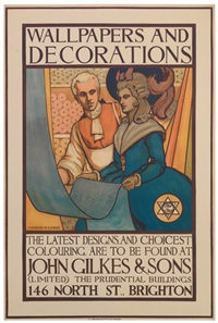 wallpapers and decorations/john gilkes & sons by conrad leigh
