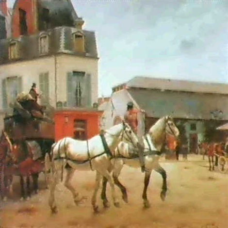 changing horses by edmond georges grandjean