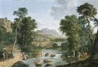 paysage antique animé by bartolomé sureda