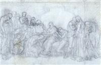 il perdono; nudo disteso; scena romana (3 works) by gaetano forte
