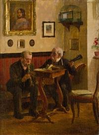 die musikstunde by adolf reich
