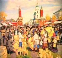 jour de foire by sergei smirnov