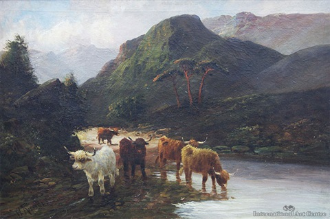 pass at dunkeld by w richards