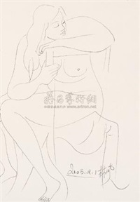 女人体 by lin xiao