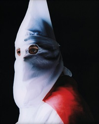 klansman (great titan of the invisible empire iv) by andres serrano