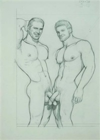 s/t (swordfish) by tom of finland