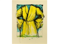 yellow robe (not in carpenter) by jim dine