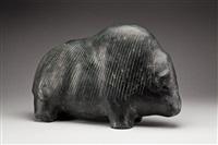 musk-ox by barnabus arnasungaaq
