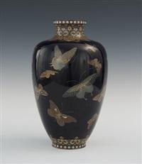 vase by hayashi kodenji
