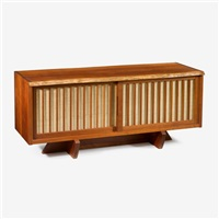 special cherry room divider, 1984 by george nakashima