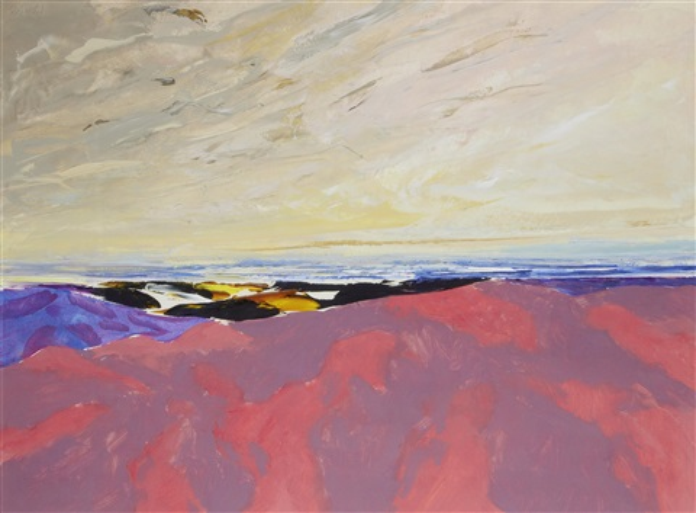 beachscape, wester ross by donald hamilton fraser