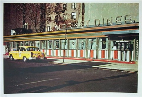 market diner from the city scapes portfolio by john baeder